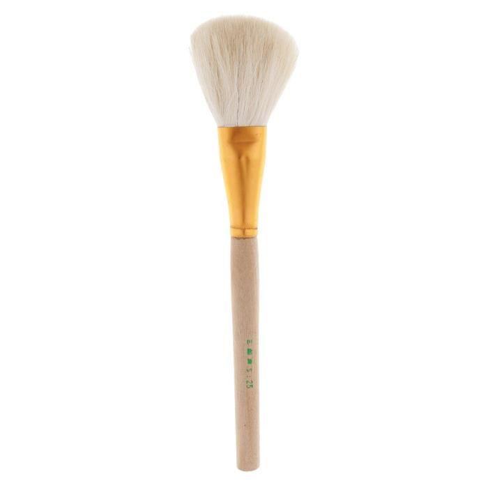 Couleur 22cm Brosse de Potrerie à Grande Tête En Bois d'Argile, Pinceaux de Peinture Pour Artistes, Sculpture