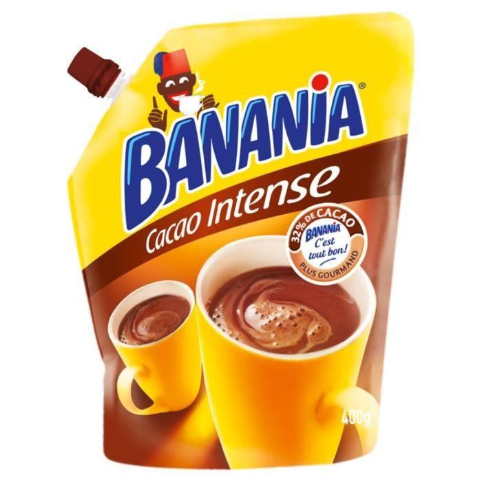 Banania Arôme Intense Doypack 400g (lot de 3)