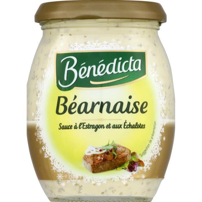 Sauce béarnaise à l'estragon Bénédicta - 260 g