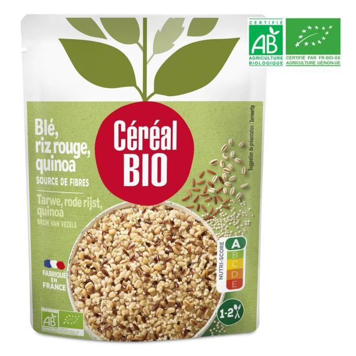 Blé rouge quinoa bio 220 g Cereal Bio