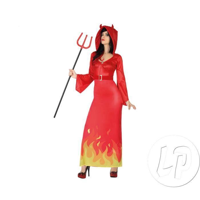 déguisement de femme démon adulte taille xs/s