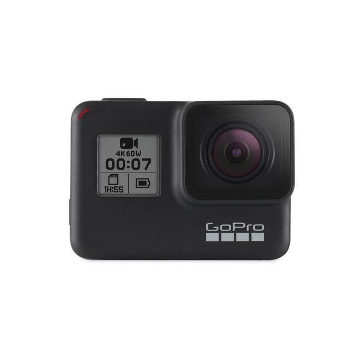GoPro HERO7 Black, 4K Ultra HD, 3840 x 2160 pixels, 240 ips, 800 x 480,1280 x 720,1280 x 960,1920 x 1080,1920 x 1440,2704 x 1520