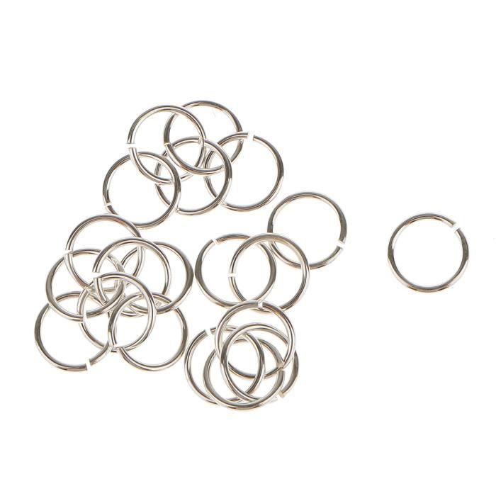 MOUSQUETON - ANNEAU DE PLONGEE 20 pièces anneaux ouverts