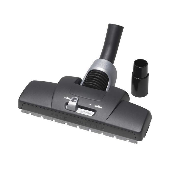 MENALUX - Brosse moquettes et sols durs pour aspirateur d.32-35 mm - CB104B