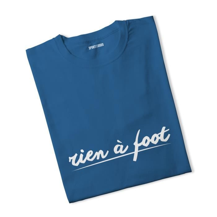 T-shirt garçon Rien à foot