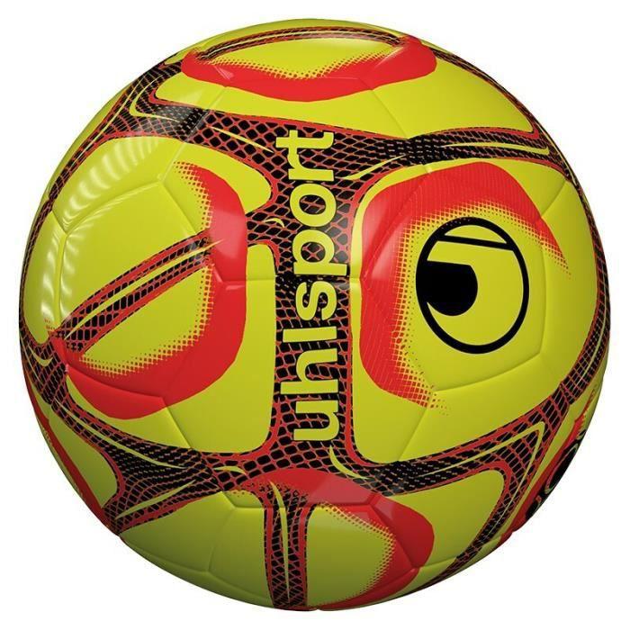 Ballon Uhlsport Triompheo club training - jaune paille/orange/noir - Taille 5
