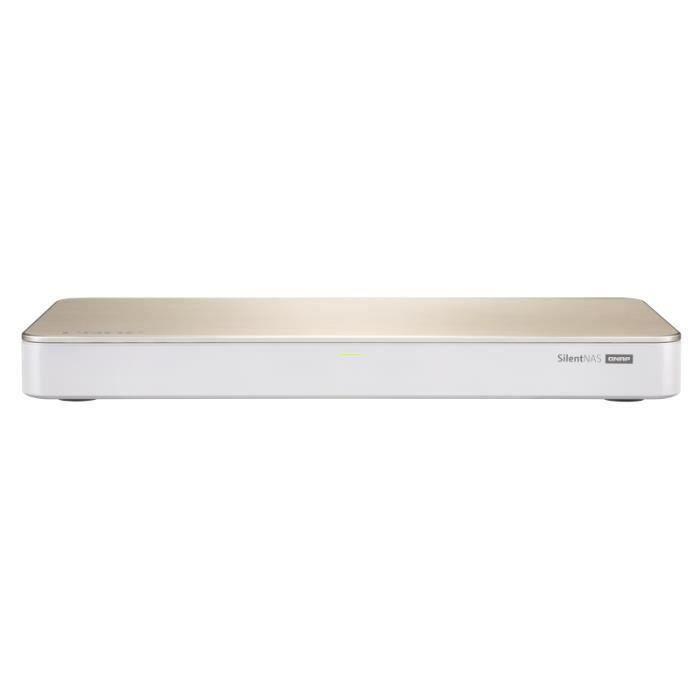 QNAP - Serveur de Stockage (NAS) - HS-453DX-4G - 2 Baies - 4 Go DDR4 - Intel Celeron J4105 - Boitier nu