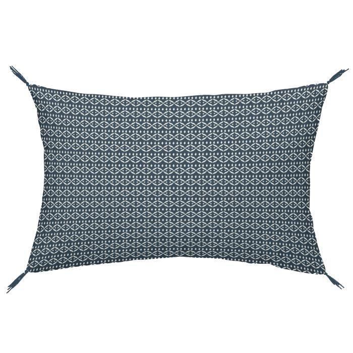 TODAY Coussin 100% coton Imprimé Jakarta Shiva - 30 x 50 cm