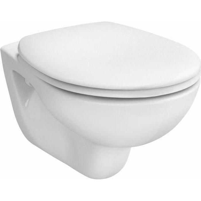 Cuvette de WC suspendue ARKITEKT - Couleur : BLANC - 6107L003-0075