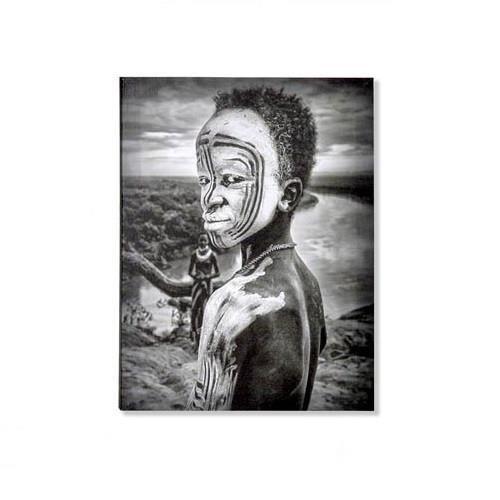 Cadre Toile Tableau Africain Afrique 40 X 30 Cm C Achat Vente Tableau Toile Bientot Le Black Friday Cdiscount