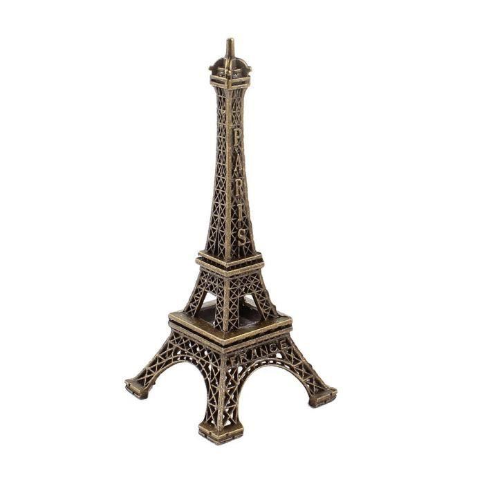 Paris Tour Eiffel Décoration Mariage Fête Anniversaire Belle souvenir Horloge Murale