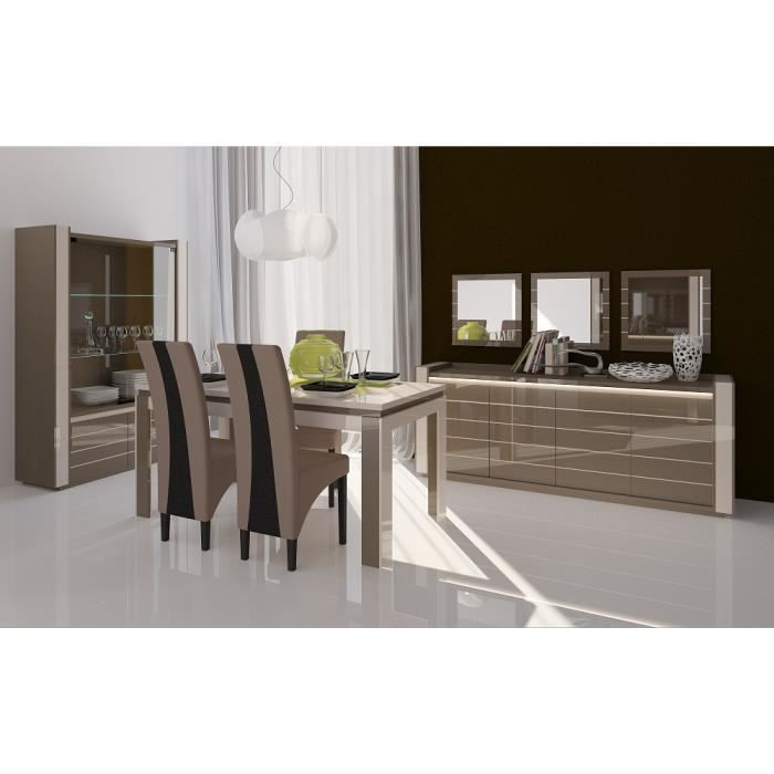 meuble de salon salle manger lina 9 l ments achat vente salon complet meuble de salon. Black Bedroom Furniture Sets. Home Design Ideas
