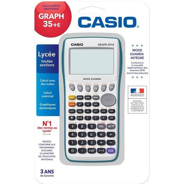 Casio Graph 35 Cdiscount