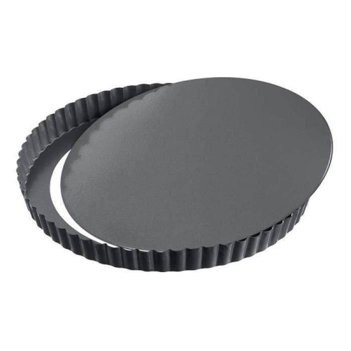 Moule Silicone Antiadhésif Rond 23 cm Cake Gâteaux Tartes