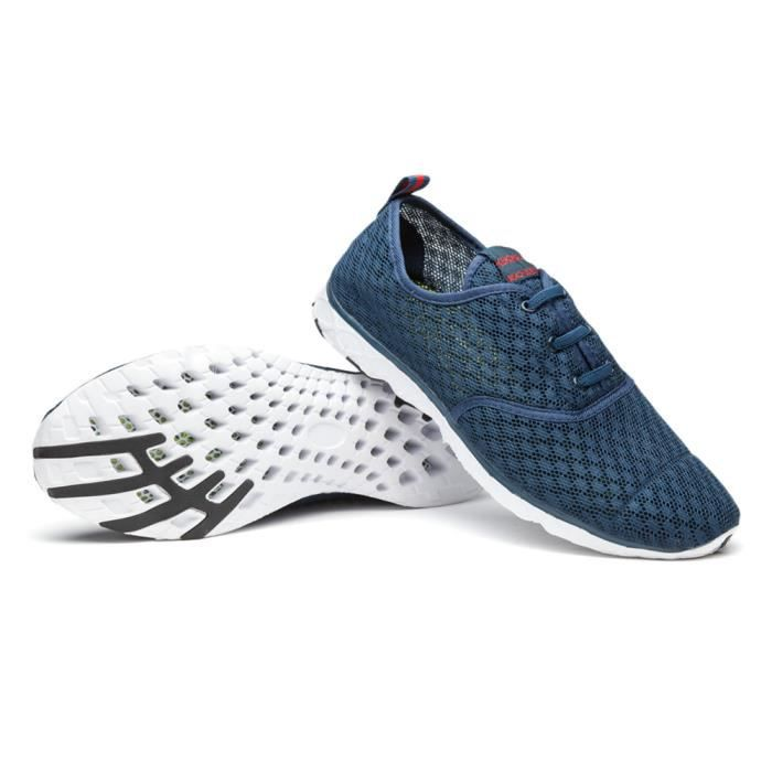 Mode Antidérapant brand Durable ete Taille Confortable Nouvelle baskets  2017 chaussures Grande chaussure mocassins sport hommes ... 9474685e960