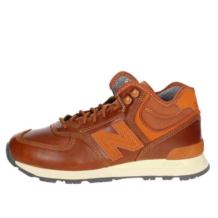 new balance cuir homme marron
