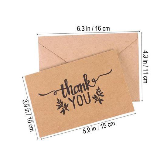 Général plié merci cartes ~ ~ ~ FAMILLE MARIAGE CADEAU ~ simplement vous remercier