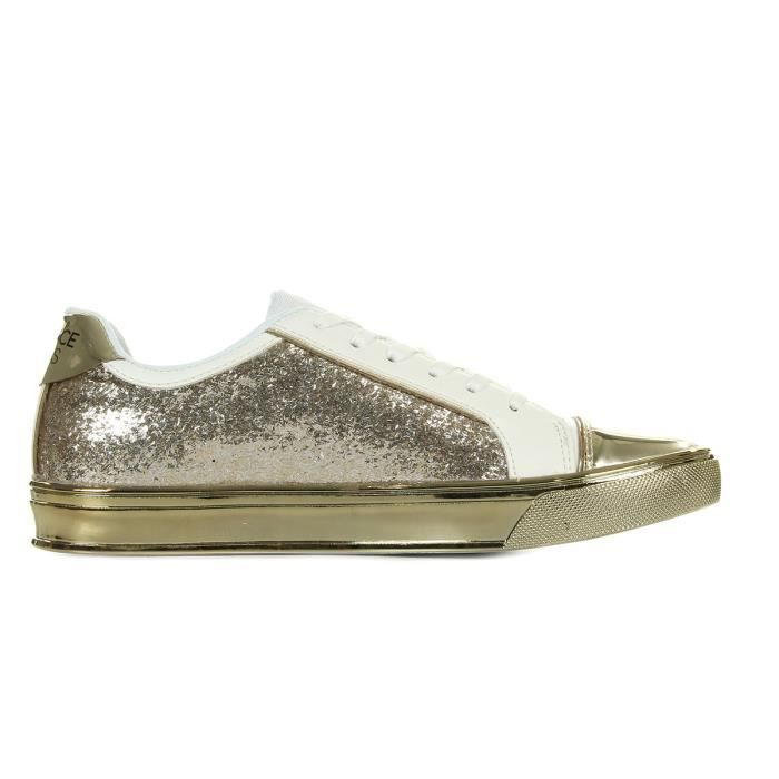 Baskets Versace Sneaker Donna DisC3 Easy Leath Glitter