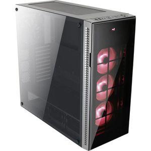 BOITIER PC  AEROCOOL Boitier PC (verre trempé) QUARTZ PRO RGB