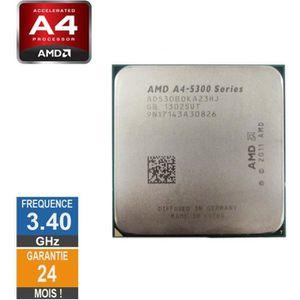 PROCESSEUR Processeur AMD A4 Series A4-5300B 3.40GHz AD530BOK