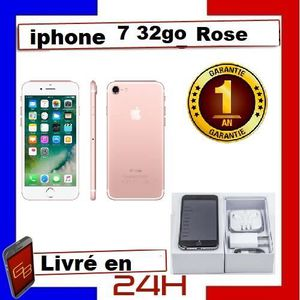 SMARTPHONE Apple Iphone 7 - 32Go Rose / Reconditionné. Charge