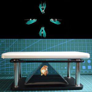 FIXATION PROJECTEUR 3D Projecteur Téléphone Hologram Pyramid Iphone Et