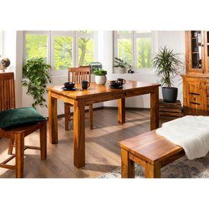 TABLE À MANGER SEULE Table à manger rectangulaire 120x85cm, 4 à 6 Perso