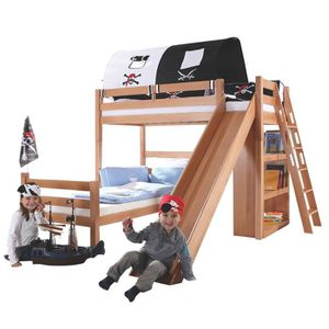 lit toboggan achat vente lit toboggan pas cher cdiscount page 29. Black Bedroom Furniture Sets. Home Design Ideas