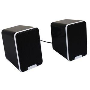 ENCEINTES ORDINATEUR Computer Sound Box haut-parleurs de 3,5 mm Pratiqu