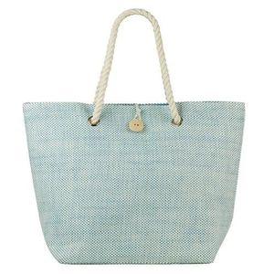PANIER - SAC DE PLAGE Beco sac de plage en denim look aqua