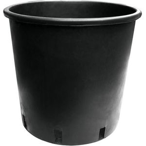 JARDINIÈRE - BAC A FLEUR Pot rond 25ltr 32x32 cm