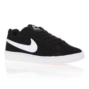 BASKET MULTISPORT NIKE Baskets  COURT ROYALE SUEDE - Homme  - Noir/B