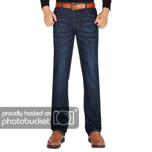 JEANS Jeans Stretch Homme Regular Straight Automne Hiver
