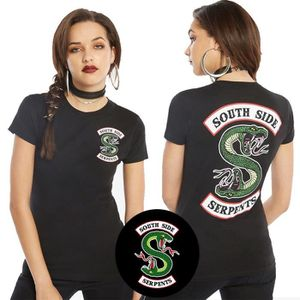 T-SHIRT « côté sud du t - shirt riverdale serpents tees ar