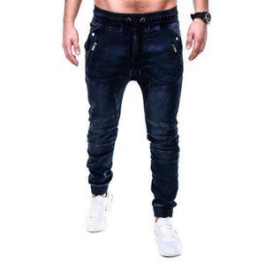 JEANS Jeans Homme - Taille élastique Casual Mode Homme D