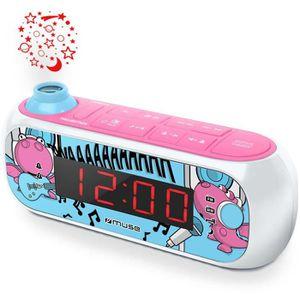 RADIO CD CASSETTE Muse M-167 KDG, Horloge, Numérique, FM,MW, LED, 2,