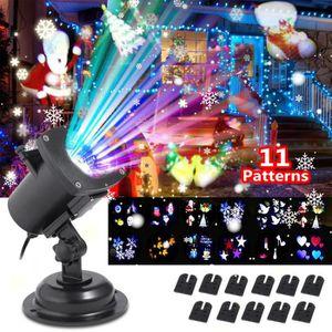 PROJECTEUR LASER NOËL Laser Projecteur Lampe Lumiere pour Noel Fete LED