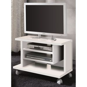 meuble tv 80 cm achat vente meuble tv 80 cm pas cher cdiscount. Black Bedroom Furniture Sets. Home Design Ideas