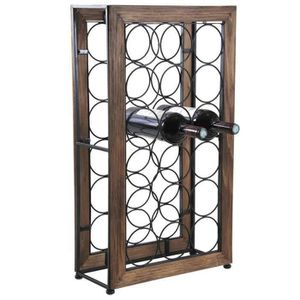 meuble de rangement bois metal achat vente pas cher. Black Bedroom Furniture Sets. Home Design Ideas