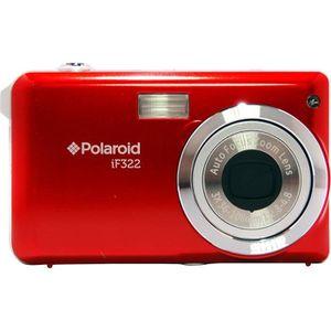 APPAREIL PHOTO COMPACT POLAROID Compact IF322 - Rouge -14 Mpixels