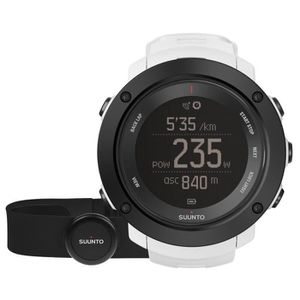 MONTRE OUTDOOR - MONTRE MARINE SUUNTO Montre AMBIT3 Vertical Blanc HR