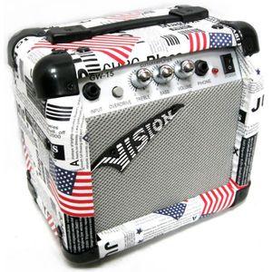 AMPLIFICATEUR AMPLI Guitare électrique design USA 15 Watts avec