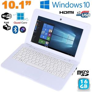 NETBOOK Mini PC Portable Windows 10 pro Netbook 10' Notebo