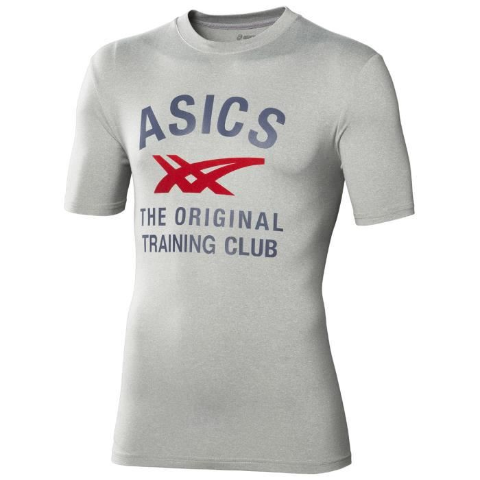 ASICS T-Shirt Running Manches Courtes Homme