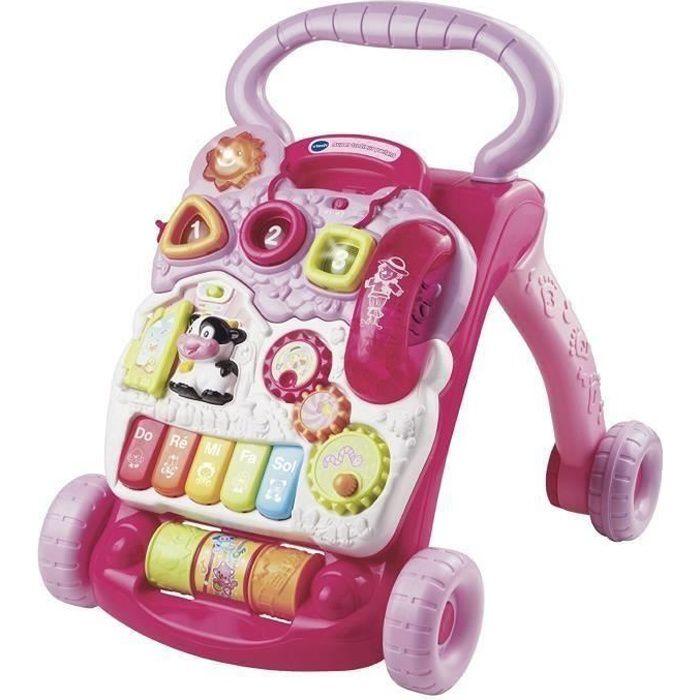 VTECH BABY - Super trotteur parlant 2 en 1 rose - 61775