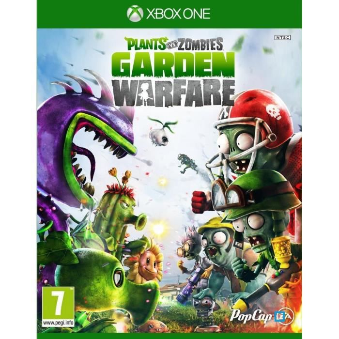 plant vs zombies garden warfare jeu xbox one avis test cdiscount. Black Bedroom Furniture Sets. Home Design Ideas