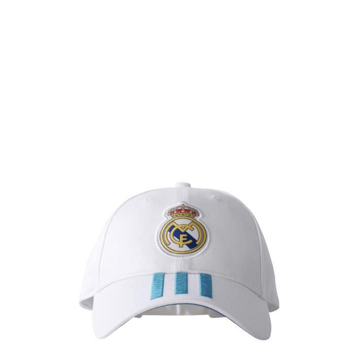 Casquette Real Madrid 2017-2018 - blanc-bleu - 12 ans