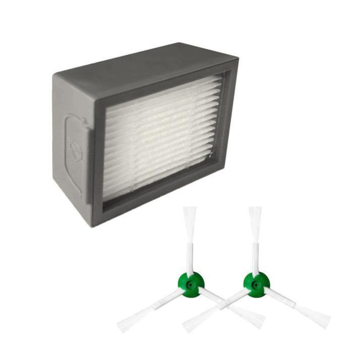 Brosses Kits pour hérisser iRobot Roomba + Core i7 Core i7 - Core i7 plus E5 E6 E7 Aspirateur IRobot 112
