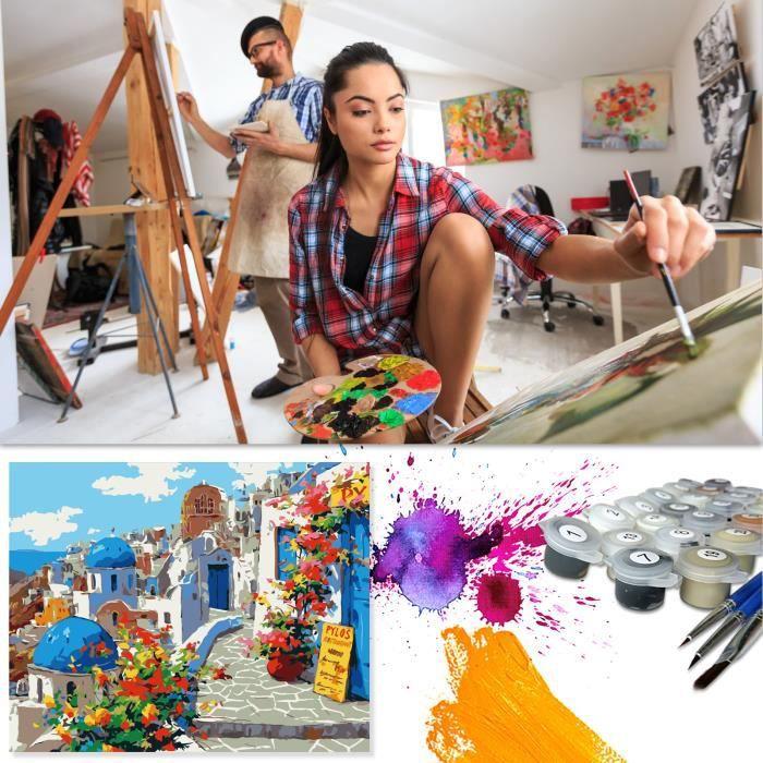 ARDOISE MURALE Peinture bricolage numérique peinture bricolage peinture acrylique décoration de la maison mots de peinture1