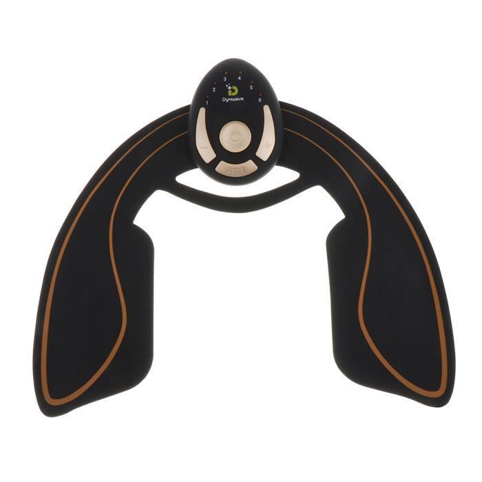 Electrostimulateurs Musculaire Fessier, AbDοs Appareil Eectrostimulation, Chargement USB, EMS Hanches Trainer, Intelligent Portable